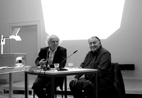 24.10.2012 with Prof. Dr. Peter Weibel Photo: © MONOKROM